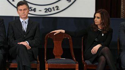 Jornada electoral con Memes De Cristina Y Macri