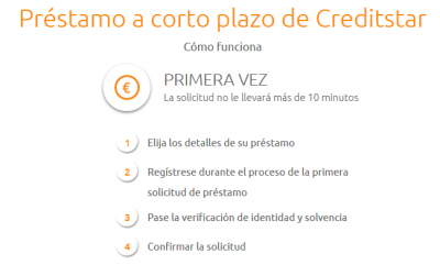 CreditStar, euros de forma rápida y sencilla
