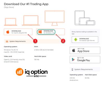 IQ broker descargar su versión para pc o móvil es facil